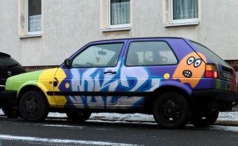 Monster-VW in Lindenau