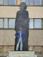 Neueres Wagnerdenkmal am Promenadenring