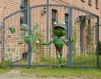 Frosch in Burghausen