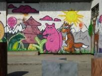Frosch, Nagetier und Fuchs in Grünau