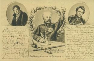 Scharnhorst, Blücher und Gneisenau, historische Postkarte