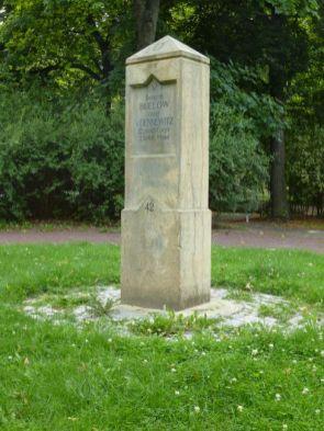 Bülowstein auf dem Stephaniplatz