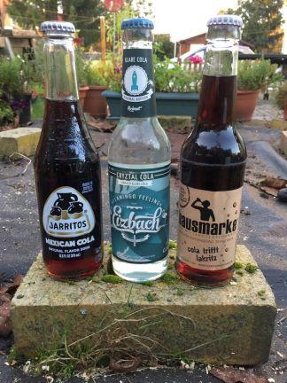 Jarritos, Eizbach Cryztal und Hausmarke Cola