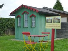 Historische Laube in Sellerhausen