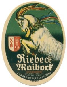 Landes-Brauerei Riebeck Maibock