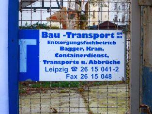 Altes Firmenschild, Menckestraße