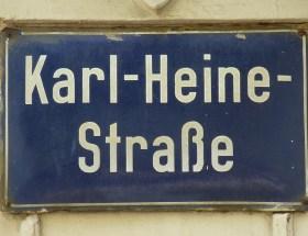 Heine in der Laube II