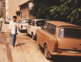 Sechs Fotos von 1986