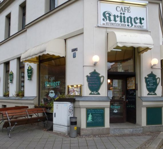 Café Krüger am Eutritzscher Markt