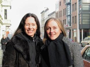 Sara und Annett von der Kneipenlyrik