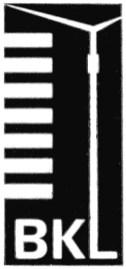 Logo des Baukombinats Leipzig (BKL)