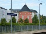 Turm an der S-Bahn-Haltestelle Olbrichtstraße