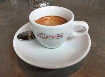 L'Osteria: Espressotasse im März 2020