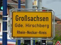 Großsachsen in der Nähe von Heidelberg
