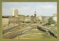 Fußgängerbrücke am Brühl in den 1980ern
