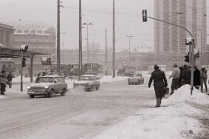 Winter am Hbf. 1987 (Foto: Harald Stein, Wortblende)