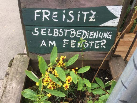 Freisitz im Klingerweg / Ecke Könneritzstraße