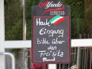Freisitz-Hinweis in Böhlitz-Ehrenberg