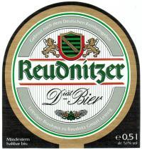 Reudnitzer Diät-Bier, 1990er Jahre