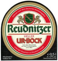 Reudnitzer Heller Ur-Bock, 1990er Jahre