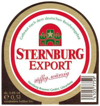 Sternburg Export, 1990er Jahre