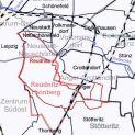 Reudnitzer Grenzen (rot und schmal: alt, rosa und breit: neu)