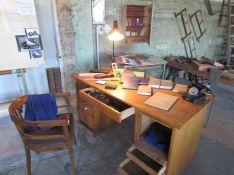 Blick in die alte Werkstatt