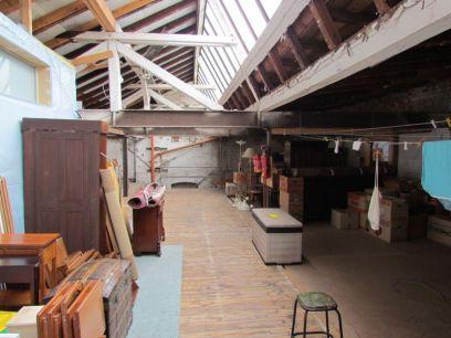 Dachboden der Alten Matratzenfabrik