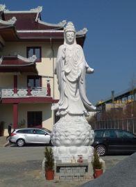 April 2019: Jetzt mit Statue (Foto: Dieter)