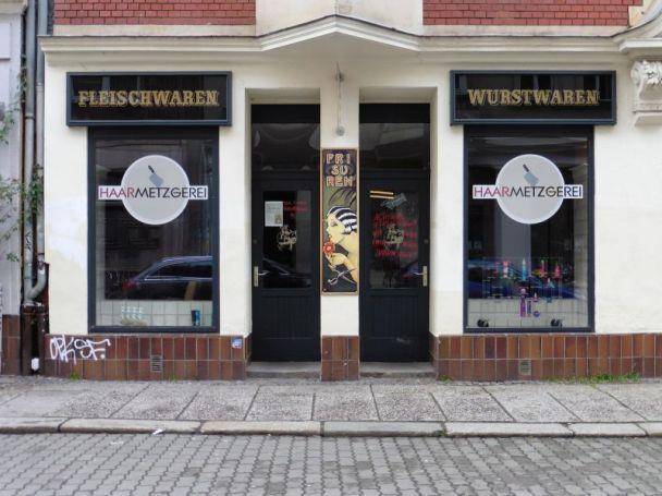 Haarmetzgerei in der Kolonnadenstraße