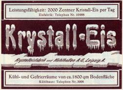 Krystalleisfabrik Anger-Crottendorf 1907