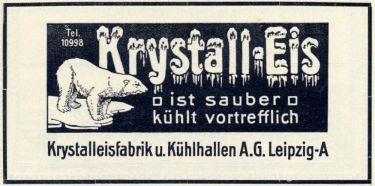 Krystalleisfabrik Anger-Crottendorf 1909