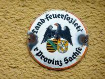 Land-Feuersozietät der Provinz Sachsen (gesehen in Halle)