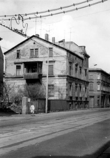 Zschochersche Straße (zu der Zeit Philipp-Müller-Straße), 1986