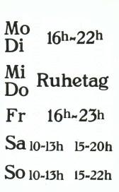 Visitenkarte aus den 1980ern