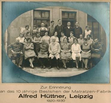 Erinnerungsfoto von 1930