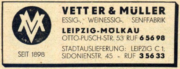 Anzeige von 1950