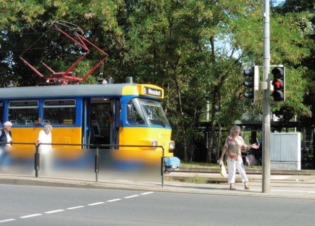 Straßenbahn nach Meusdorf