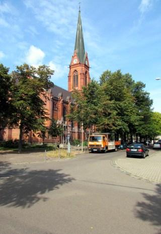 Ganz nah: Die Lukaskirche