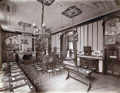 Im Künstlerhaus (Abb.: Passage Verlag)