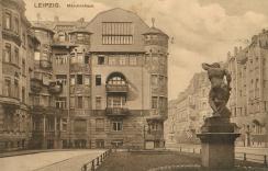 Das Märchenhaus auf einer historischen Postkarte