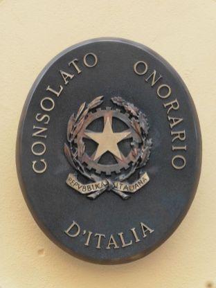 Italienisches Konsulat im Königshaus (März 2021)