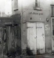 Tankstelle in der Rödelstraße, 1980er Jahre