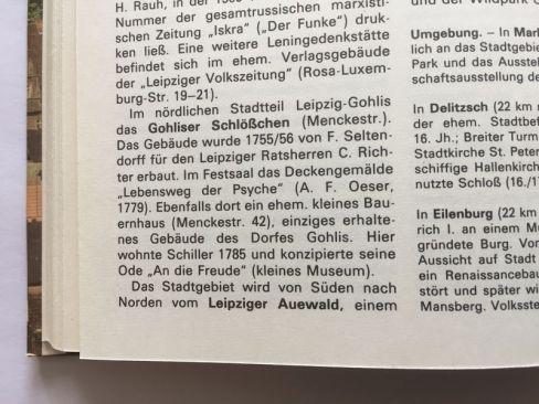 """Auewald, 1989 im """"Reisebuch DDR"""" (Tourist Verlag)"""