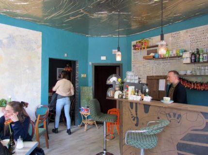 Café Kune in der Eisenbahnstraße