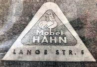 Möbel-Hahn-Werbung Ende der 1980er (Foto: Norbert Lotz)