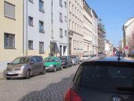 Lange Straße 5 heute, zweites Haus von links