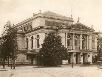 Altes Gewandhaus 1929