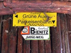 Unterstellpilz an der Gustav-Esche-Straße