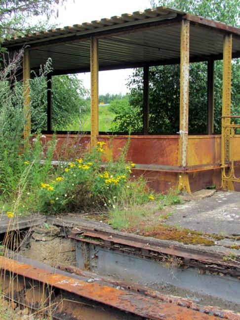 Bahnhof Lützschena, Nostalgiebereich